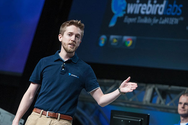 Jack Dunaway from Wirebird Labs at NIWeek 2013 Keynote