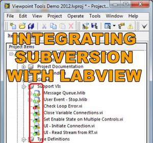 Integrating Subversion with LabVIEW