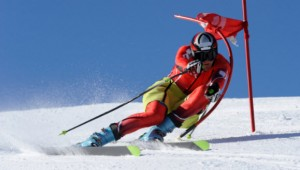 Agile Skier